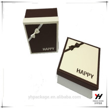 Custom watch paper capsule box hard paperboard paper box with logo print